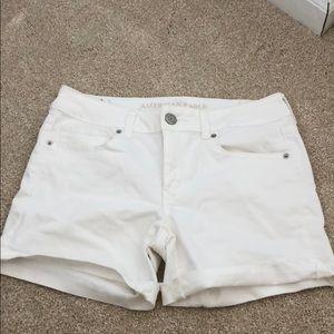 Pants - NEVER WORN white jean shorts